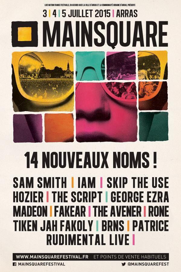 14 nouveaux noms pour le Main Square Festival à Arras.
