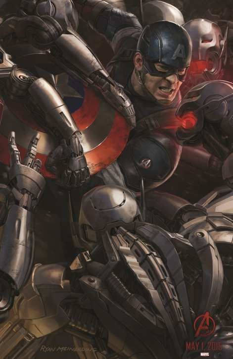 Le teaser du film Avengers, Age of Ultron pour le Super Bowl.