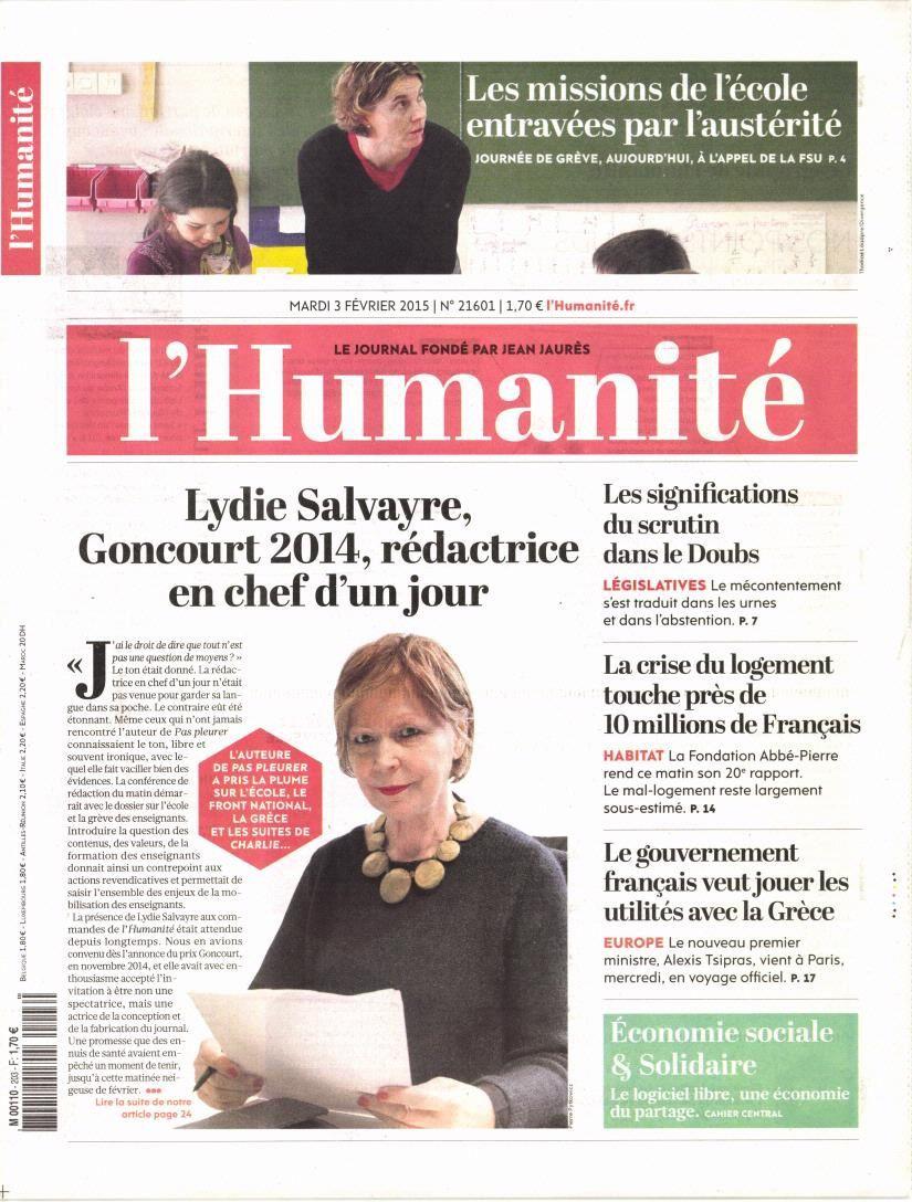 La Une de la presse quotidienne nationale ce mardi 3 février.
