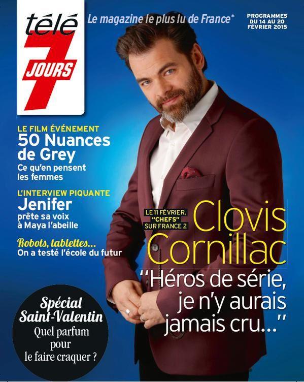 La Une des magazines télé ce 9 février : Louane, Jenifer, Chefs...