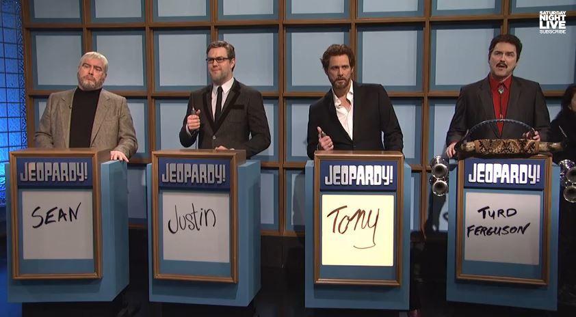 Les 40 ans du SNL : Jeopardy avec Will Ferrell et Jim Carrey.