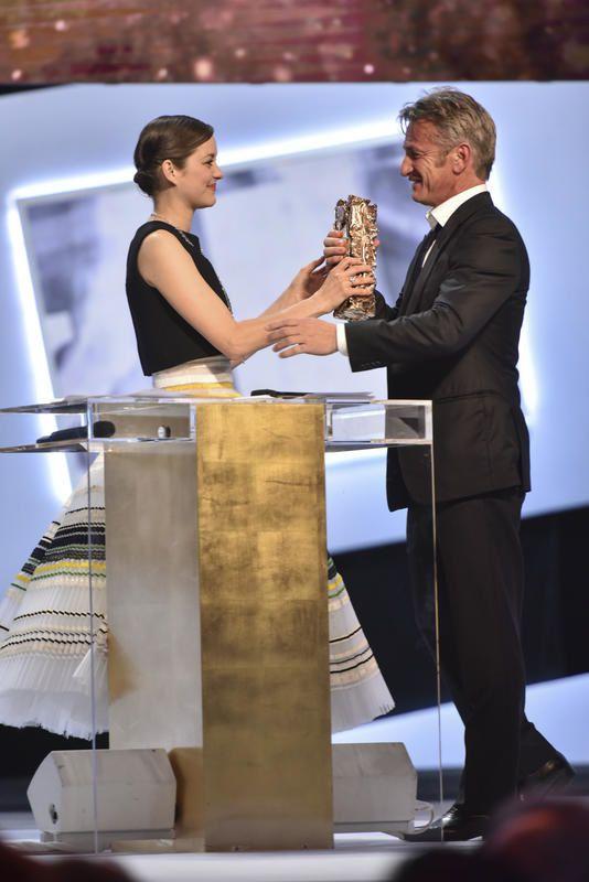César d'Honneur remis à Sean Penn : la séquence vidéo.
