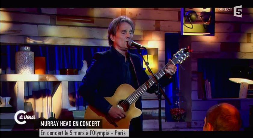 Live de Murray Head dans C à vous : Say it ain't so (Vidéo).