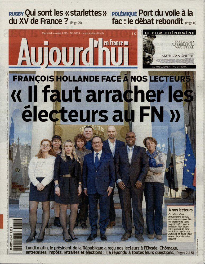 La Une de la presse quotidienne nationale ce mercredi 4 mars.