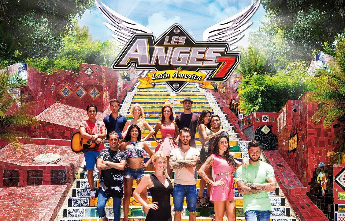 Les anges 7 Latin America sur NRJ12 : les participants et leurs comptes Twitter.