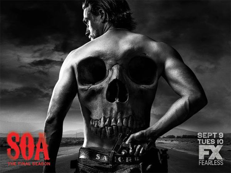 L'ultime saison de Sons of Anarchy diffusée en France dès le 27 avril.