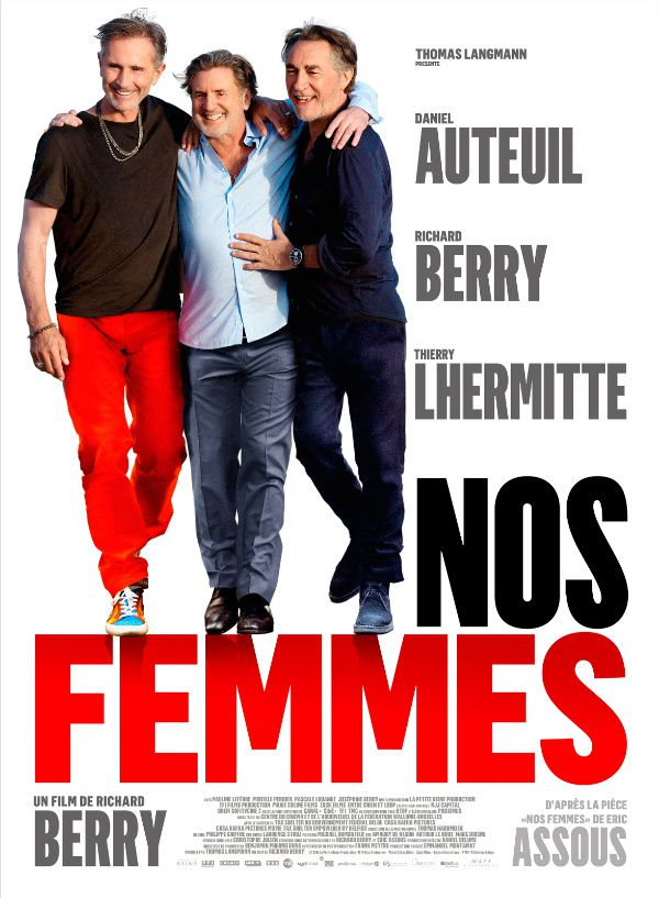 L'affiche du film Nos femmes, de Richard Berry.