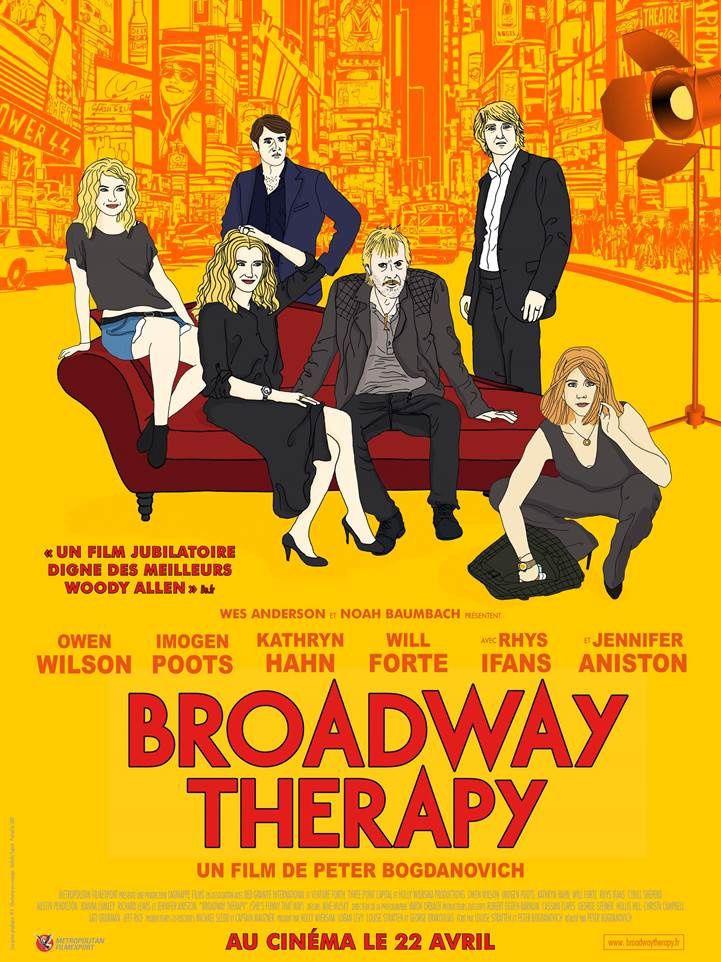 Affiche et bande-annonce française du film Broadway Therapy.