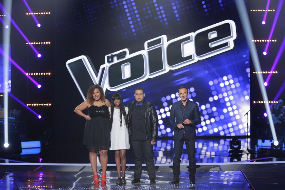 L'ultime épreuve de The Voice : prestations d'Awa Sy et de Yoann (vidéos).