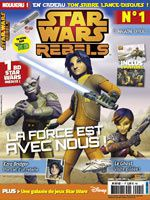 Destiné aux enfants, le magazine presse Star Wars Rebel arrive.