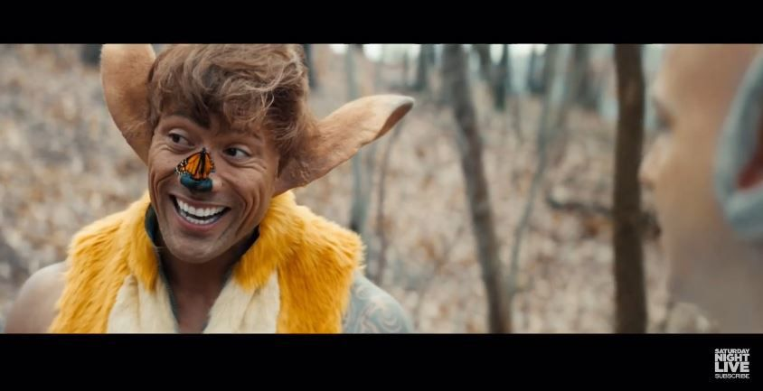 Bambi version Dwayne Johnson (Vidéo SNL).