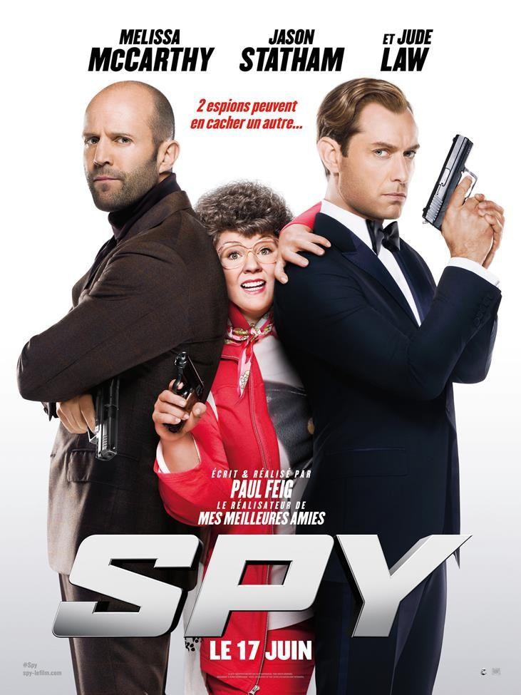 Nouvelle bande-annonce de Spy, avec Melissa McCarthy et Jason Statham.