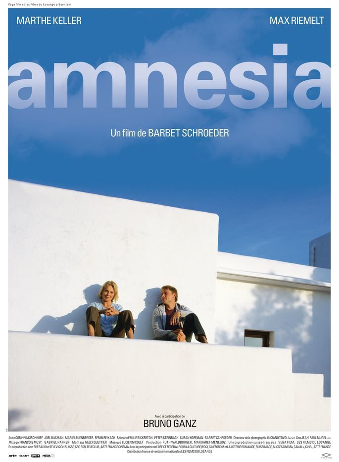Bande-annonce du film Amnesia, avec Marthe Keller et Max Riemelt.