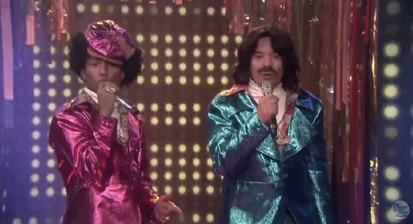 Jimmy Fallon et Pharrell Williams dans la peau du duo Afro &amp&#x3B; Deziak.