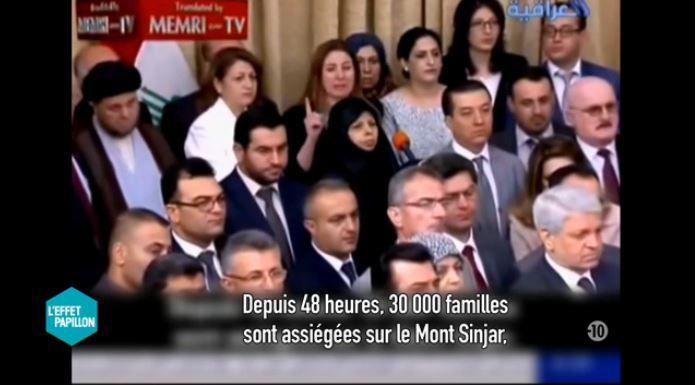 Reportage L'effet papillon : Le martyre du peuple Yézidi (Vidéo).