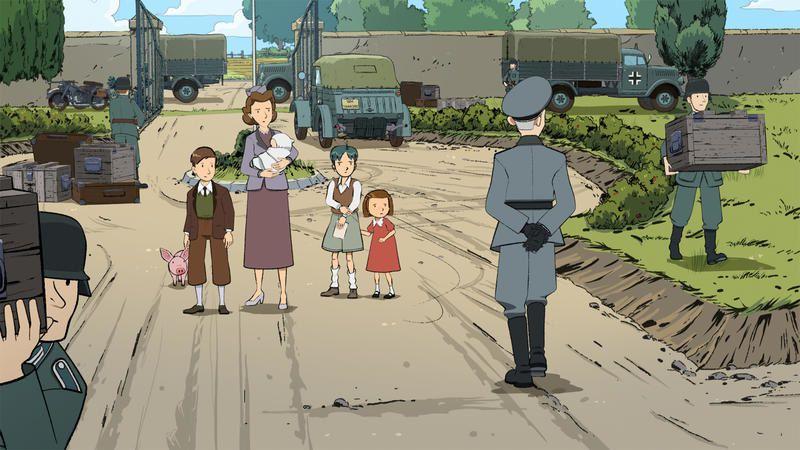 Les grandes grandes vacances : Feuilleton d'animation sur la Seconde Guerre mondiale.