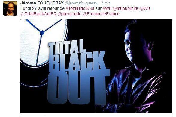 Retour de Total Black Out le 27 avril sur W9.