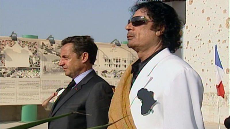 Le président et le dictateur, Sarkozy/Kadhafi : cette nuit sur France 3.