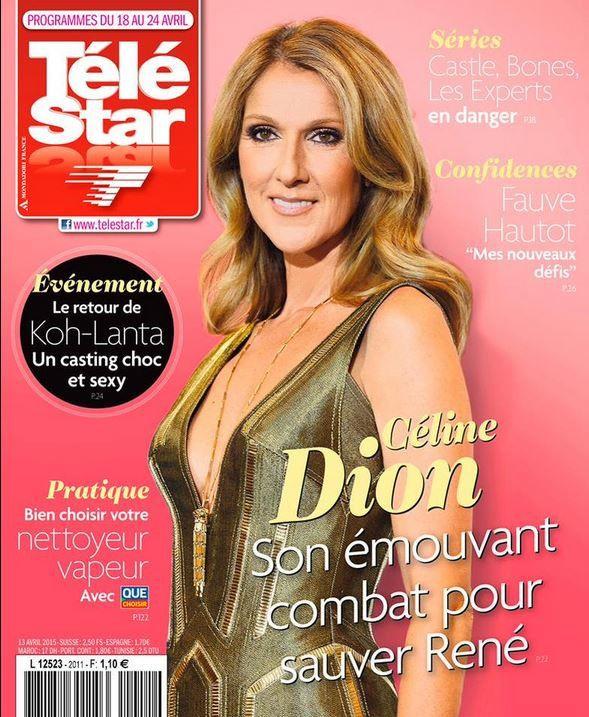 La Une de la presse TV ce 13 avril : Laëtitia Milot, The Voice, Céline Dion...