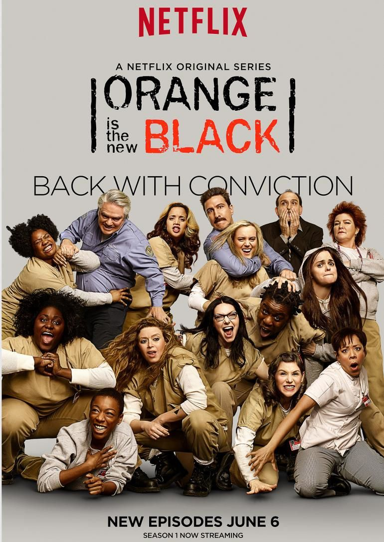Une saison 4 pour Orange is the New Black (Netflix).