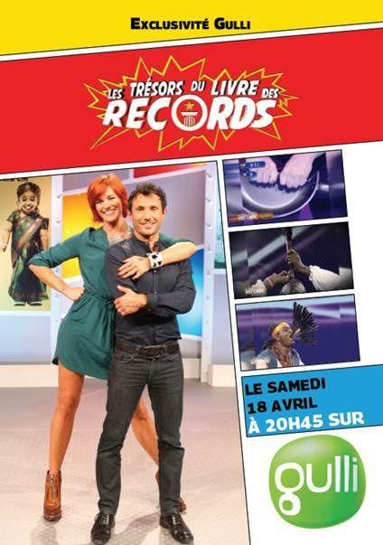 Trésors du Livre des Records avec Fauve Hautot et Willy Rovelli, dès ce samedi.