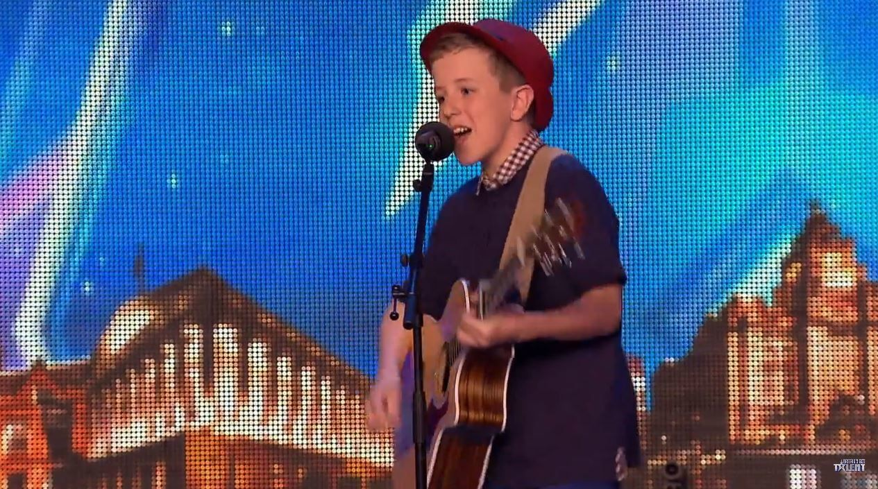 Vidéos auditions de Britain's got talent dont Boyband et Henry Gallagher.