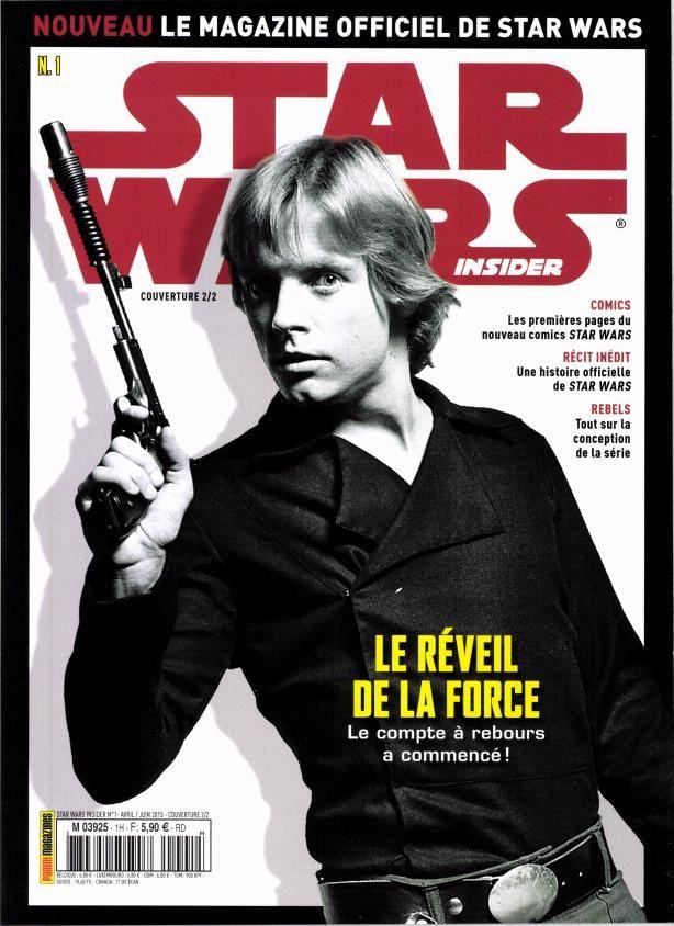 Lancement du magazine Star Wars Insider ce mardi.