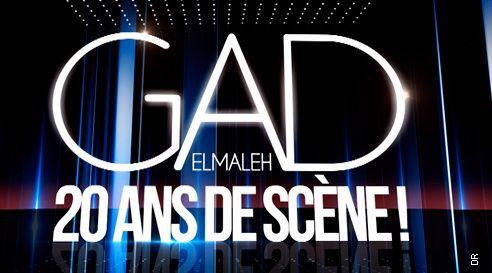 Gad Elmaleh : 20 ans de scène, le samedi 16 mai sur TF1.