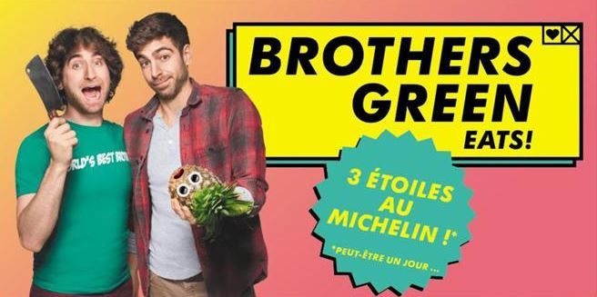 Le programme Brothers Green Eats arrive sur MTV France.