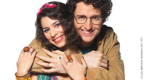 Maxime et Agathe Rousseau, nouveau couple de Nos chers voisins (vidéo).
