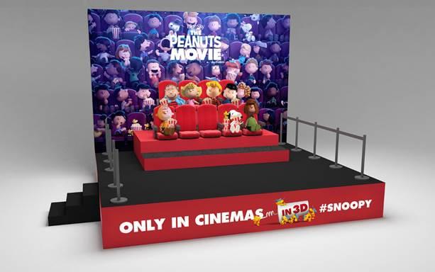Snoopy et les Peanuts débarquent à Cannes...