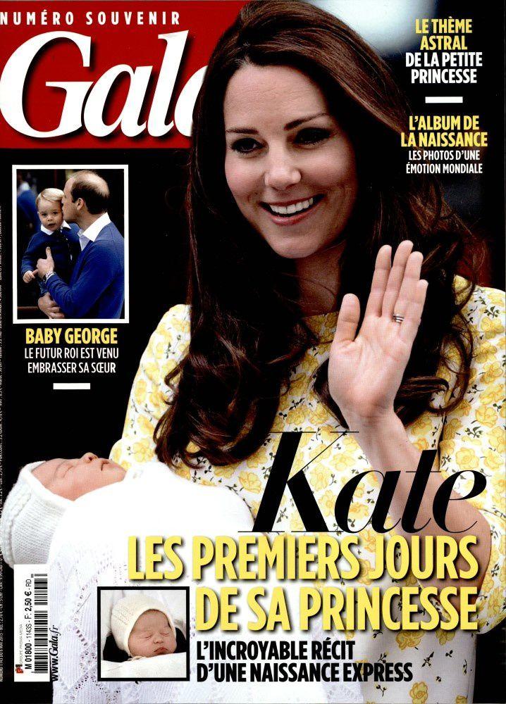 Kate et la Princesse Charlotte en Une de Paris Match et Gala.