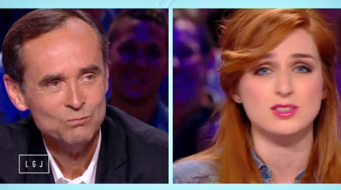 Vidéo Le grand journal : l'ironie d'Alison Wheeler face à Robert Ménard.