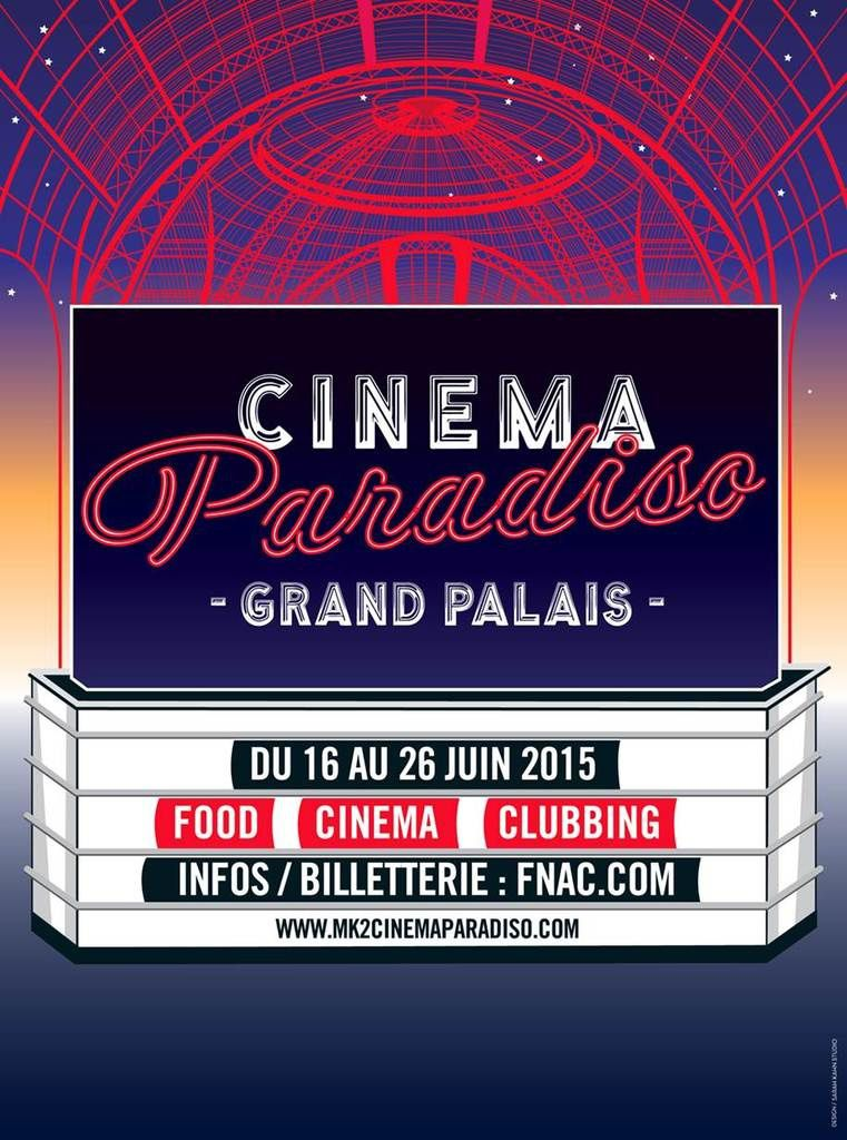 Cinema Paradiso au Grand Palais : collaboration d'un vainqueur de Top Chef.