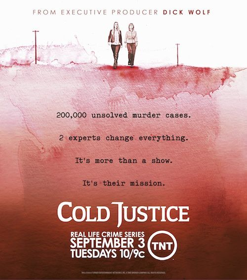 Diffusion du programme inédit Cold Justice dès le 15 juin.