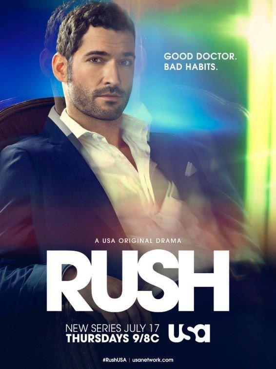 La série Rush débute ce jeudi sur M6 : 4 épisodes à la suite...