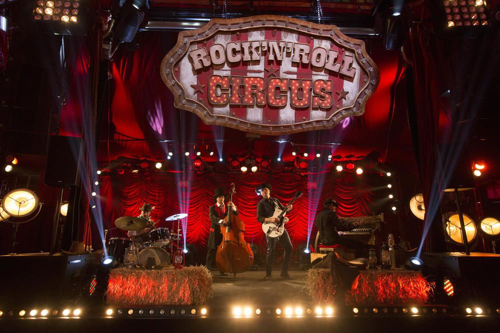 Photos de Rock'n'Roll Circus, show déjanté sur TF1.