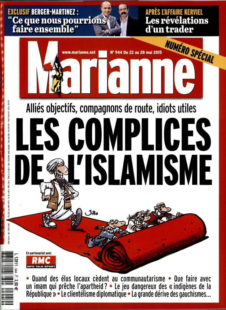 Insultes racistes et menaces de mort : plainte du magazine Marianne.