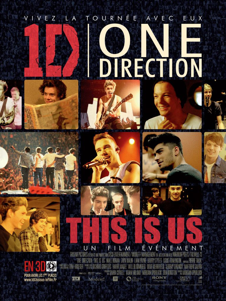 Le documentaire musical &quot&#x3B;One Direction, le film&quot&#x3B; diffusé le 21 juin.