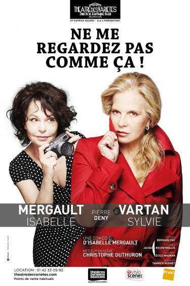 Isabelle Mergault et Sylvie Vartan réunies sur scène : l'affiche du spectacle.