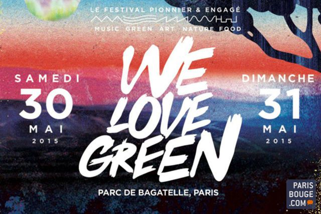 ARTE Concert en direct du Festival We Love Green (dont Christine &amp&#x3B; The Queens).