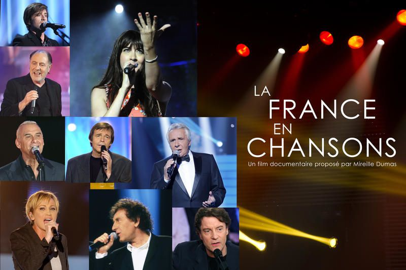 La France en chansons le 22 juin sur France 3.