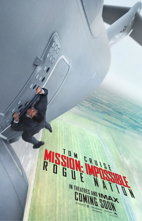 Nouvelle bande-annonce française de Mission : Impossible - Rogue nation, avec Tom Cruise.