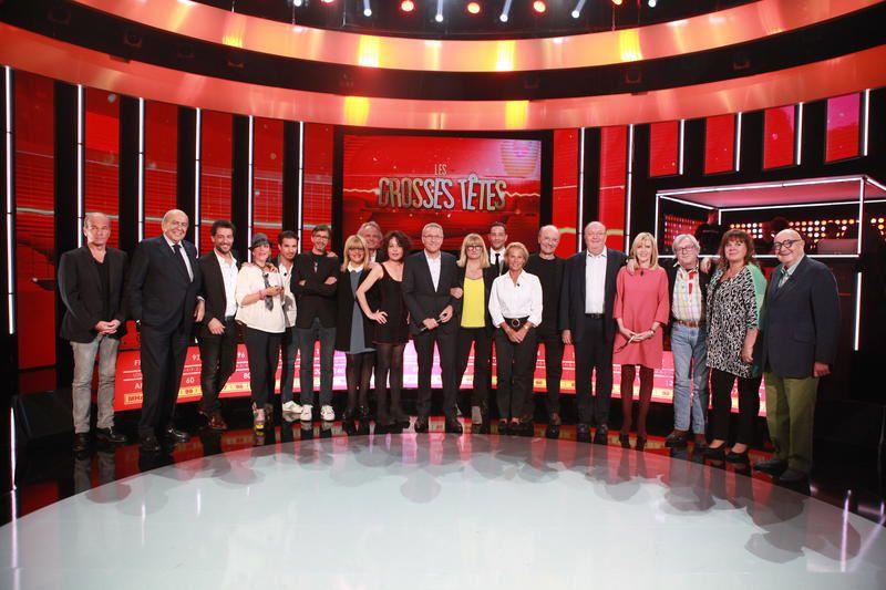 Les invités des Grosses Têtes ce samedi sur France 2.