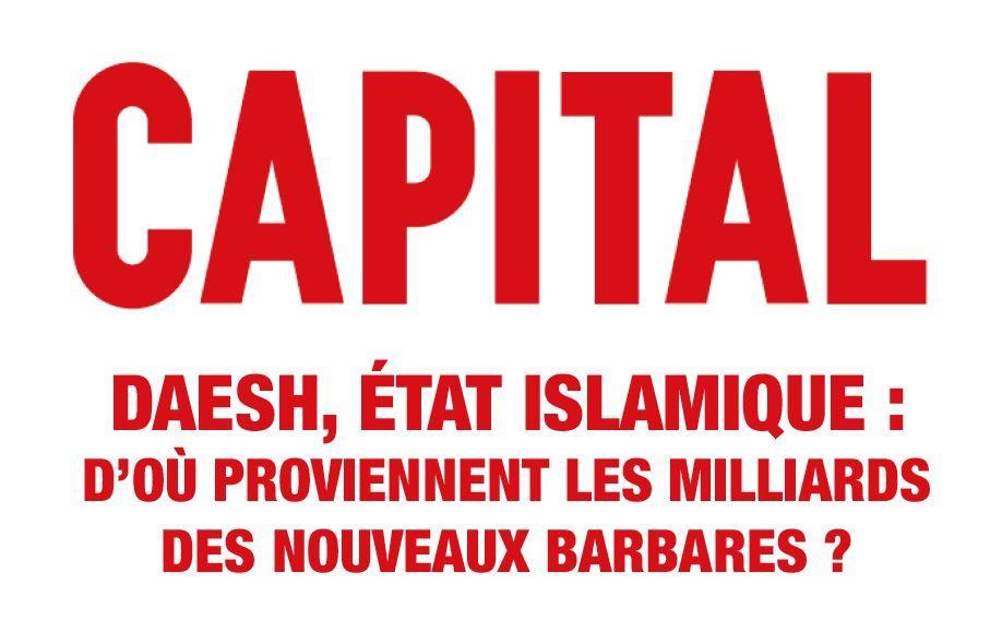 A voir dans  Capital : d'où provient l'argent de Daesh (vidéo).