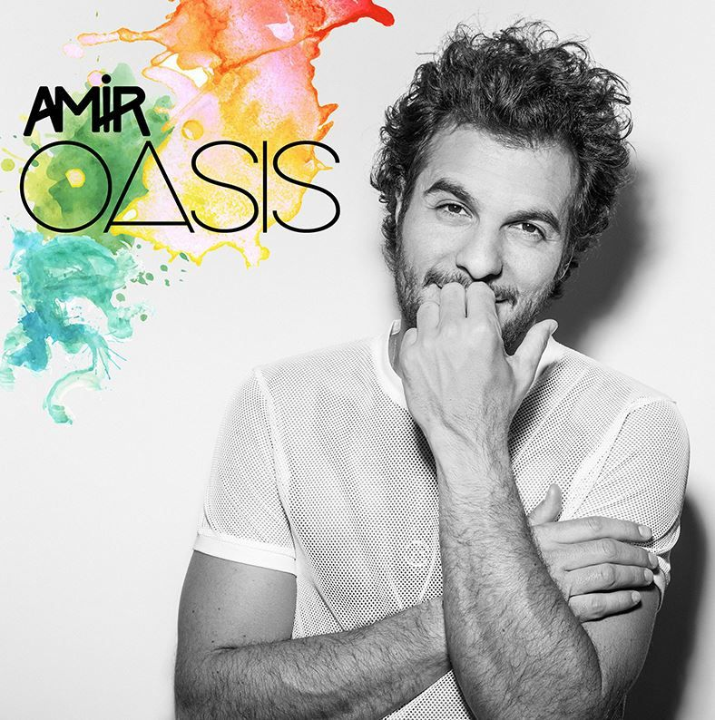 La chanson Oasis, par Amir, ex talent de l'émission The Voice.