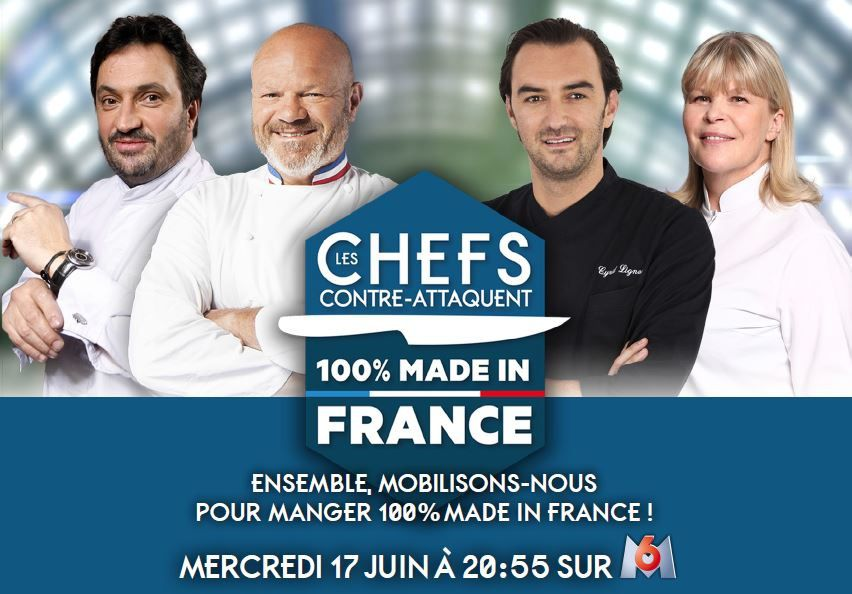 Des chefs se mobilisent pour manger 100% made in France : audience et replay.