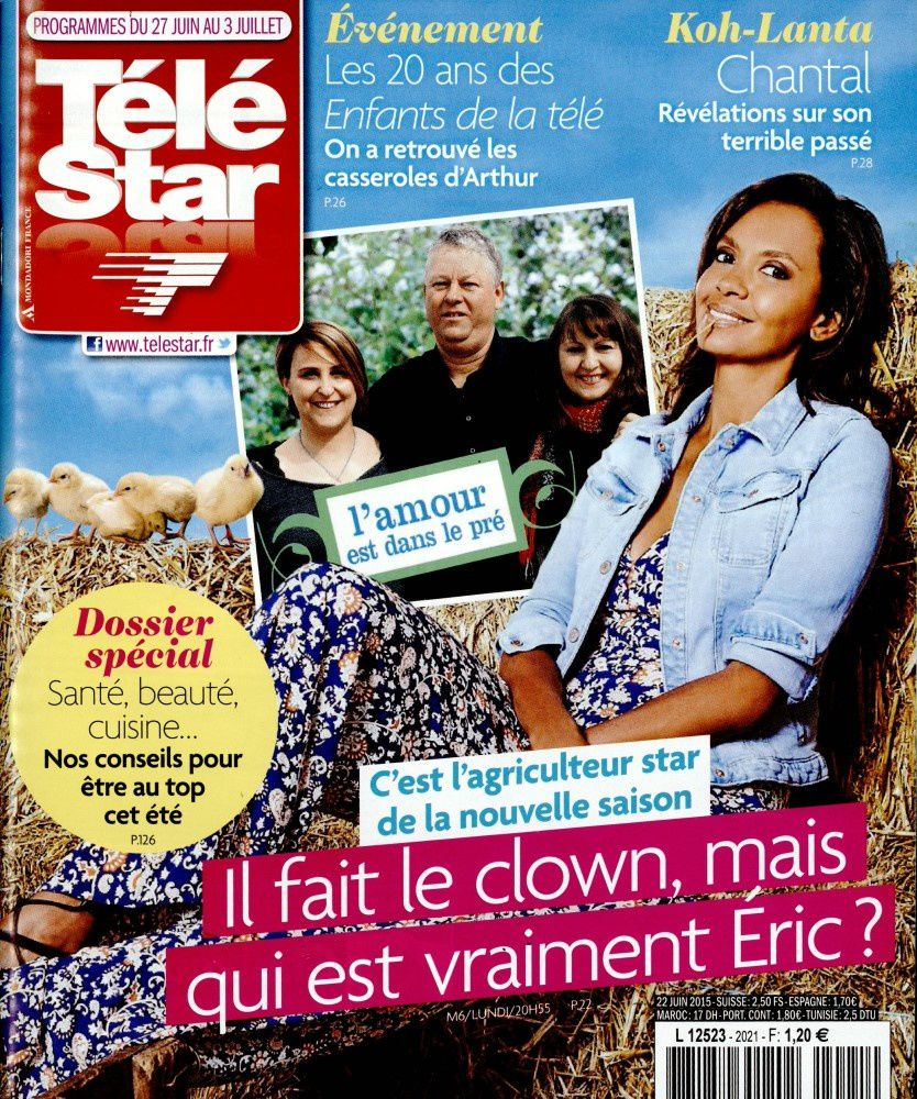 La Une des hebdos TV ce lundi : Fauve Hautot, Sandrine Quétier, Kate Moss.