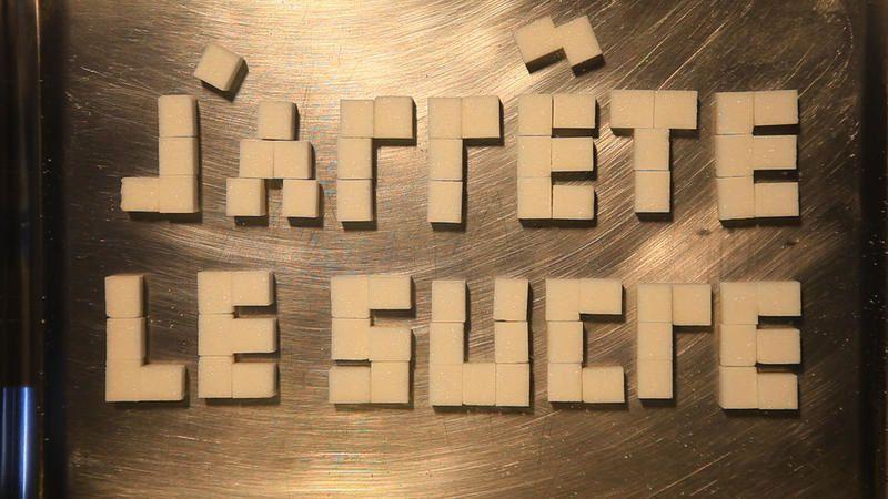 Document inédit diffusé sur France 5, J'arrête le sucre (Extrait).