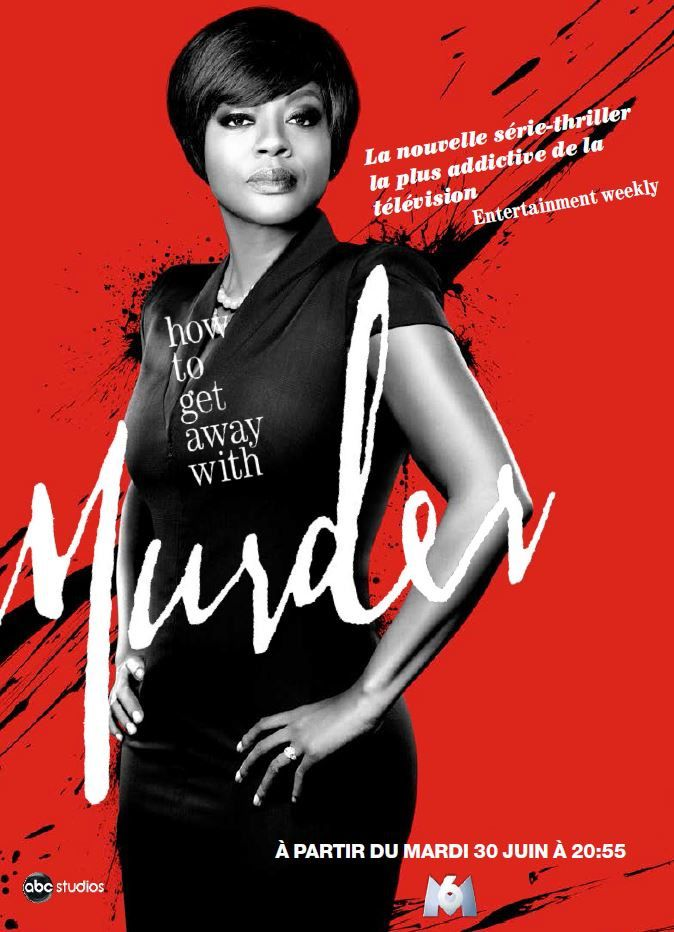 How to Get Away With Murder : dès ce mardi sur M6...mais programmation décourageante.